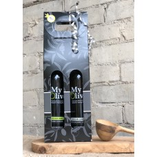 Olive Oil and Balsamic Gift Tote