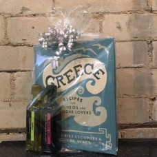 Greece Cookbook Gift Set