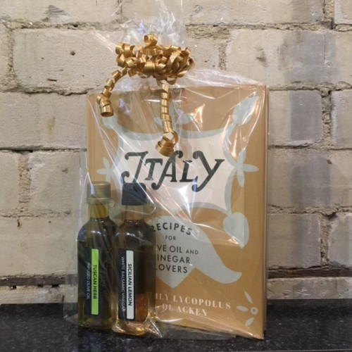 Italy Cookbook Gift Set