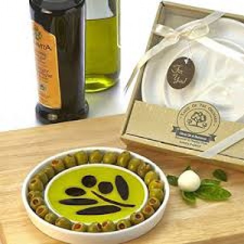Taste of the Orchard Olive Oil & Vinegar Tasting Plate