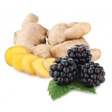 Blackberry-Ginger Balsamic Vinegar